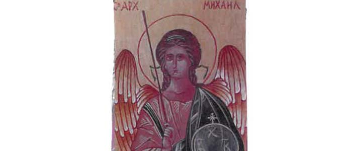 Writing an Icon 2019: The Archangel Michael dates and registration information.
